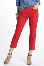 Corey Lynn Calter Nella Trousers Pants Size 14 Red Color NW ANTHROPOLOGIE Tag