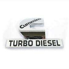 1 OEM Cummins Turbo Diesel HIGH OUTPUT Emblem Decal Dodge Ram 2500 3500 1Y