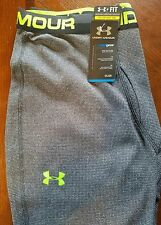 Under Armour Cold Gear Charcoal Men's Workout Pants XXL NEW w/TAGS Crossfit L@@K