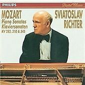 """CD PHILIPS 422 583-2 Mozart """"Piano Sonatas KV 282, 310 & 545"""" Sviatoslav Richter"""