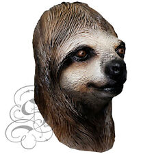 Latex Full Head Jungle Animal Sloth Fancy Dress Up Props Carnival Party Mask