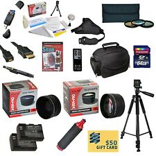 Ultimate Accessory Kit for Canon 6D 60D 60Da 70D 5D Mark III
