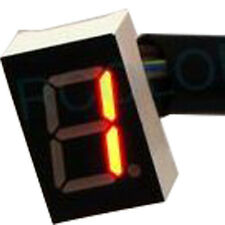 Universal Digital Gear Indicator for Motorcycle Red