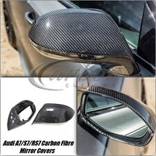Audi A7/S7/RS7 2010-2016 Carbon Fibre Mirror Covers Full Replacement *UK*
