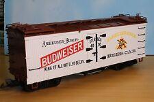 LGB 4070, Spur G, Budweiser Reeder / Kühl-/ Bierwagenwagen, 4achs., weiss