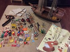 Playmobil Vintage Pirate Ship And Figures Set