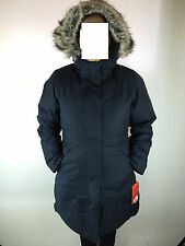 2016 WOMENS THE NORTH FACE ARCTIC PARKA JACKET 550 ARTIC DOWN NAVY AND GREEN