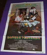 MODERN PROBLEMS MOVIE POSTER ORIGINAL ONE SHEET CHEVY CHASE