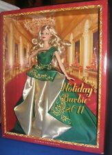 2011 HOLIDAY BARBIE COLLECTOR  BARBIE DOLL, NRFB SEALED