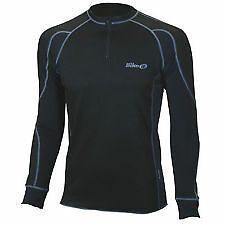 Bike It Thermolite Inner Wear Thermal Warm Wicking Long Sleeve Top Large - T
