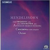 SACD - Felix Mendelssohn: Concerto for Violin and Piano; Octet (2013) {CD Album}