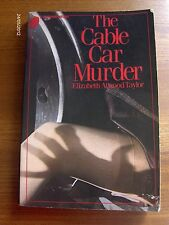 The Cable Car Murder by Elizabeth Atwood Taylor 1981