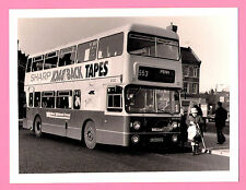 "Large Bus Photo 8"" x 6"" - West Midlands Travel Fleetline 6333 in Wolverhampton"