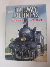 Railway Journeys: The Vanishing Age of Steam (DVD, 2008, 5-Disc Set, Digipak)