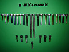 Kawasaki KH125 125cc SS Stainless Engine Cover Allen Screw Kit New  UK FREEPOST