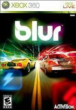 Blur Xbox 360 Racing Game No Manual Nice Disc