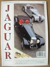 JAGUAR WORLD QUARTERLY MAGAZINE WINTER 1990 WITH FREE PRINT SERIES 3 E-TYPE