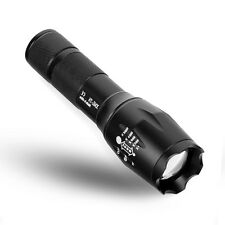 10000LM Tactical LED 18650/AAA Flashlight Zoomable Torch Focus Flashlight Lamp