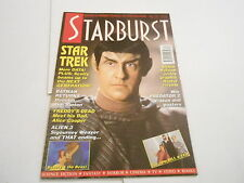 #170  STARBURST vintage movie tv magazine (UNREAD) - STAR TREK