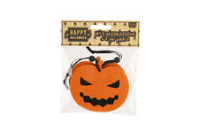 Small Orange & Black Halloween Felt Pumpkin Spooky Scary Party Kids Decorations