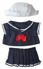 "Sailor Girl Outfit Teddy Bear Clothes Fits Most 14""-18"" Build-A-Bear and More"