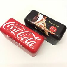 Pair of Coca-Cola Bottle Openers In Classic Tins New Unopened Coke