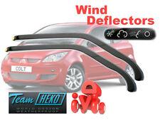 Mitsubishi Colt 2005- 3 Door Wind Deflectors 2pcs HEKO (23346)