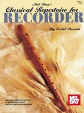 Mel Bay Classical Repertoire for Recorder, Puscoiu, Costel, Very Good Book