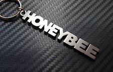 HONEYBEE Honey Love Nickname Keyring Keychain Bespoke Stainless Steel Gift