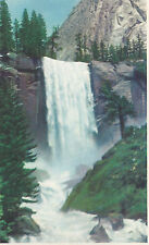 Vernal Falls Yosemite Park CA  340 S Natural Color Photography   Postcard