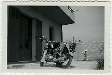 PHOTO ANCIENNE -  MOTO NEW MAP - MOTORCYCLE 1953 - Vintage Snapshot