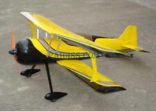 Unassembled Kit Xmas Special offer New Pitts 12 EP RC Wooden model Airplane