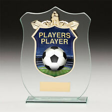 Football Players Player Titan Glass,Trophy,Award,120mm,FREE Engraving (CR15112A)