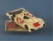 Pin's pin PEUGEOT 905 SPIDER - PILOTE MICHEL TROLLE (ref 010)