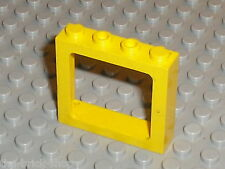 Fenetre pour train LEGO train yellow  window new 6556 / Set 4564 5542 & 4549