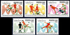 "LAOS N°1125/1129** Football coupe du monde ""Etats-Unis 1994"" , Soccer set MNH"