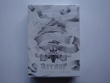 INVISIBLE ARCANE WHITE BICYCLE DECK PLAYING CARDS GAFF ELLUSIONIST MAGIC