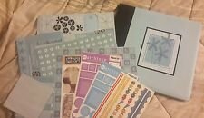 12X12 ALBUM SCRAPBOOKING ASST PAPERS & STICKERS KIT