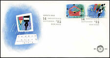 Netherlands 1993 Letter Writing Campaign FDC First Day Cover #C28039
