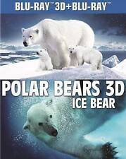 Polar Bears: Ice Bear (Blu-ray Disc, 2013, 3D)with slipcover