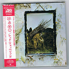 LED ZEPPELIN - IV - VINYL REPLICA - IMPORT JAPON - CD NEUF NEW NEU