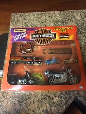 NIB Matchbox Limited Edition Harley Davidson Die Cast Motor Cycles Collector Set