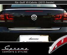 VW Golf 6/VI & 7/VII Cabrio, Cabriolet - 3M embellecedor cromado - Barra trasera