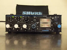 Shure FP33 Professional Portable 3 Channel Microphone Stereo Field Mixer-m836