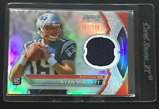 2011 Bowman Sterling #BSR-RM Ryan Mallett RC Rookie Jersey Card #/299 FREE SHIP