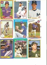18 CARD SCOTT SANDERSON BASEBALL CARD LOT           40