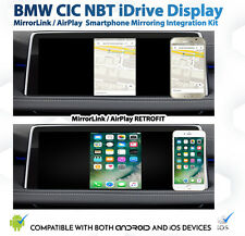 BMW CIC NBT iDrive CarPlay AirPlay MirrorLink Google GPS Retrofit Interface Kit
