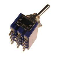 MIYAMA MS-500P Kippschalter 4-polig EIN-EIN Schalter 4xUM 6A 125V AC 005679