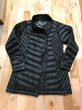 NWT Broken Zipper Eddie Bauer Women's M Down 650 fill Jacket Alpine Black