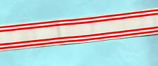 NORWAY - ROYAL RED CROSS DSM AUX PERSONNEL  RIBBON FULL-SIZE  6 INCHES (15cm)